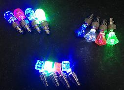 2 OR 4 PCS Valve Stem LED CAP for Bike Bicycle Car Motorcycl