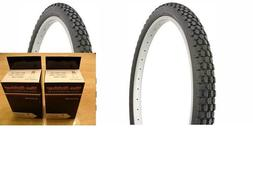 CST C183C Block Knobby Bmx Tire 20 X 2.1 Black Wall Bike