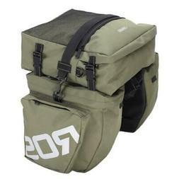 Travel Pannier Bag Rear Seat Rack Waterproof Cycling Bike Ba