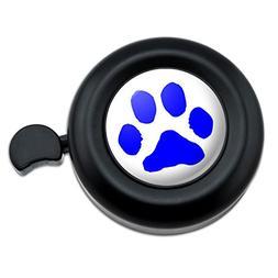 Paw Print Pet Dog Cat B/&W Bicycle Handlebar Bike Bell