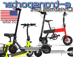 Electric Battery Power Bike Motor Scooter Foldable Small Com