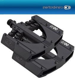 BMX Pedal Crank Bredhers 5050 3 Pedal. black/red