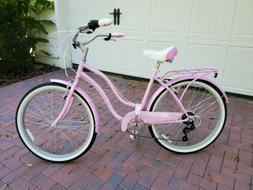 "Schwinn Women'S Perla 26"" Wheel Cruiser Bicycle, Pink, 14""/S"