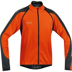 Gore Bike Wear Men's Phantom 2.0 Soft Shell Jacket, Blaze Or