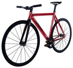 Throne Phantom Fixed Gear Single Speed Bicycle Bike 2020 Red