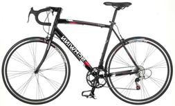 Schwinn Men's Phocus 1400 700C Drop Bar Road Bike, Black, 18