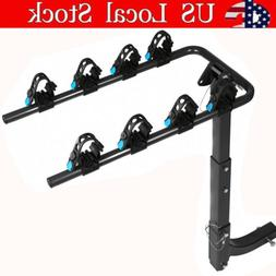 Platform Hitch Rack 4 Bike Bicycle Carrier for Truck SUV 2''