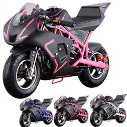 Pocket Bike Mini Motorcycle 4 Stroke Gas Power