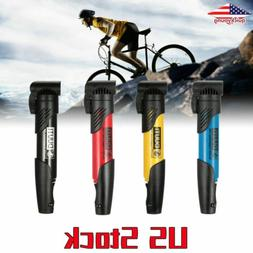 Portable Bicycle Bike Compact Light Hand Air Pump Tire Infla