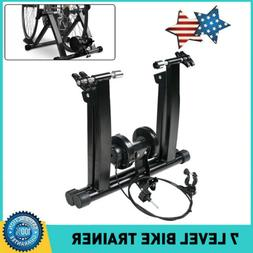Portable Indoor Exercise Fitness Magnetic Bicycle Trainer Bi