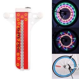 Portable Waterproof 32-LED Bicycle Bike Spoke Rim Lights for