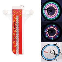 portable waterproof 32 led bicycle bike spoke