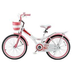 princess pink girls bike bicycle child kickstand