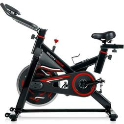 Merax Pro Stationary indoor Cycling Bike Fitness Cycle Train