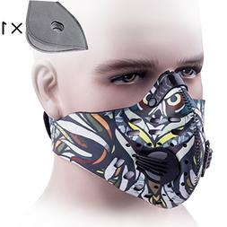 A.B Crew Protective Activated Carbon Cycling Mask Dustproof