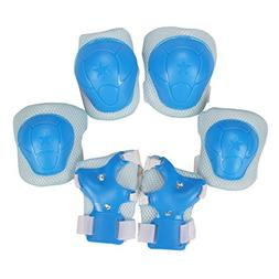 Libar Set of 6 Child Sports Protective Gear Safety Pad Safeg