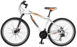 Mongoose Proxy 26-Inch Mountain Bicycle, Matte White, 18-Inc