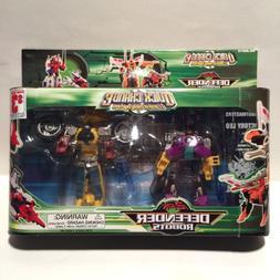 Quick Change Defender Robots KO Knockoff Takara Transformers