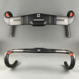 Racing Full Carbon Fiber Hollow Handlebar Road Bike Drop Bar