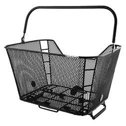 "Sunlite Rack Top Mesh QR Basket, 12 x 16 x 9"", Black"