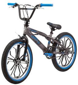 Mongoose Radical Kids BMX Bike 20-Inch Mag Wheel Boys Grey A