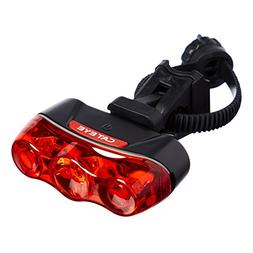 CAT EYE - Rapid 3 High Power LED Bike Safety Light with Moun
