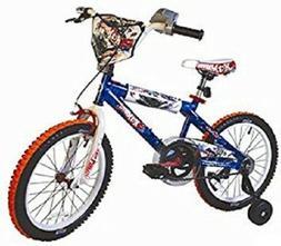 "RARE! Brand ""NEW"" Dynacraft Hot Wheels Boy's 18-Inch Bike Bl"