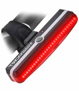 Aduro Sport LED Rear Bike Light USB Rechargeable - Ultra Bri