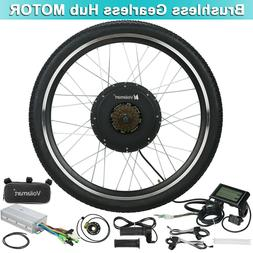 48V 1000W Electric Bicycle EBike Rear Cycling Wheel Conversi