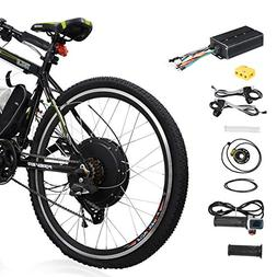 "Voilamart 26"" Rear Wheel Electric Bicycle Conversion Kit, 48"