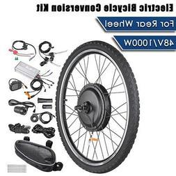 "AW 26""x1.75"" Rear Wheel Electric Bicycle LCD Display Motor K"
