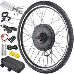 "AW 26""x1.75"" Rear Wheel 48V 1000W Electric Bicycle Motor Kit"