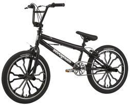 Rebel kids BMX bike, 20-inch mag wheels, Ages 7 - 13, Black