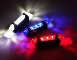 rechargeable led frame waterproof flashing modes bike