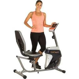 Recumbent Magnetic Tension Resistance Exercise Bike Workout