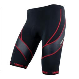 red men s bicycle cycling shorts 4d