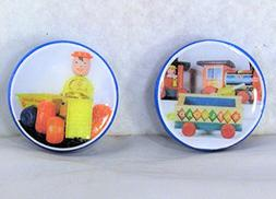 1.25 inch Refrigerator Magnets Set Happy Hauler and Huffy Pu