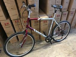 regis comfort suspension hybrid street bicycle