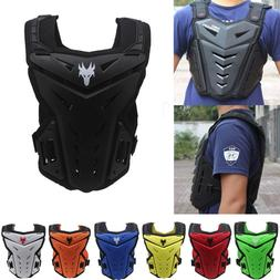 Riding Motor Bike Body Armor Spine Chest Back Protective Ves