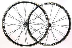 Aeromax Alloy Wheelset Road Bike Comp 700c Wheels