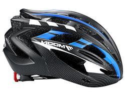 Moon Road and Mountain Bike MTB Helmet with LED Lamp, Light