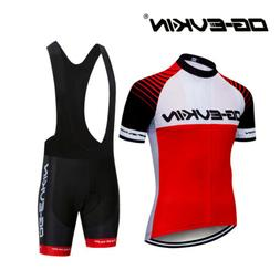 Road MTB Bike Bicycle Cycling Clothing Men Short Sleeve Jers