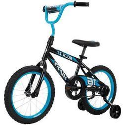 """"""" Rock It Boys Bike for Kids, Blue Huffy 16"""""""