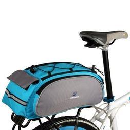 ROSWHEEL Cycling Bicycle Bike Rack Bag BLUE Seat Cargo Bag R