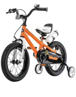 RoyalBaby Freestyle Kid's Bike 14 inch with Training Wheel
