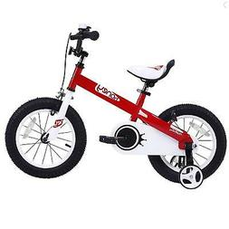 RoyalBaby Honey and Buttons Kids Bike, 12-14-16-18 inch Whee