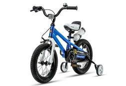 RoyalBaby Kids Bike Boys Girls Freestyle Bicycle 14 inch wit