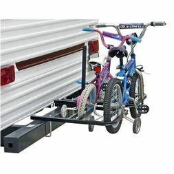 RV or Camper Trailer Bumper Bike Rack for 1-4 Bicycles