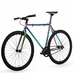 Golden Cycles Oil Slick Fixed Gear Single Speed Urban Fixie