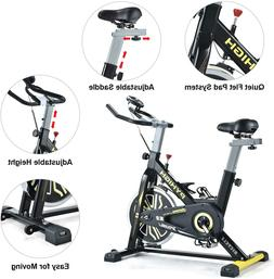 PYHIGHIndoor Cycling Bike Belt Drive Stationary Bicycle Ex